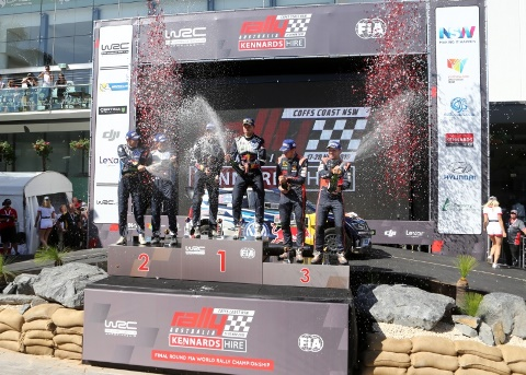 WRC: Andreas Mikkelsen vence Rally da Austrália