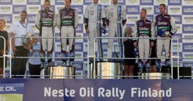 WRC: Sebastien Ogier vence na Finlândia