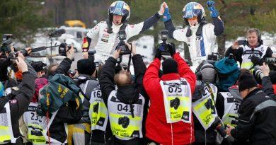 WRC: Jari-Matti Latvala vence Rally da Suécia