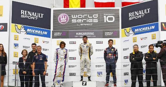World Series by Renault: Roberto Merhi e Norman Nato vencem na Hungria