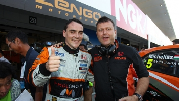 WTCC: Norbert Michelisz marca a pole em Suzuka