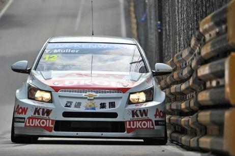 WTCC: Yvan Muller marca a pole em Macau