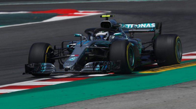 F1: Bottas, quase 1 segundo mais rápido, marca o melhor tempo no 1º Treino Livre na Espanha