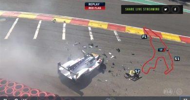 WEC: Pietro Fittipaldi sofre grave acidente em treino das 6 Horas de Spa