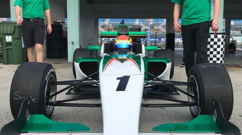 Pro Mazda: Carlos Cunha Filho corre no circuito misto de Indianápolis