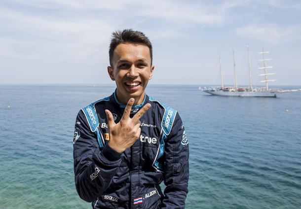 Fórmula-2: Alexander Albon conquista terceira pole consecutiva