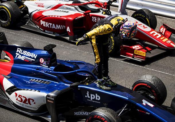 Fórmula-2: Artem Markelov vence em Monte Carlo