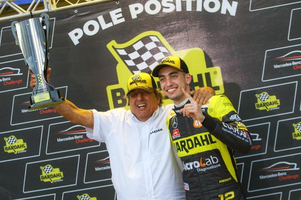 Mercedes-Benz Challenge: André Moraes Jr garante a pole do Mercedes-Benz Challenge em Interlagos