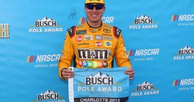 NASCAR Monster Energy Cup Series: Kyle Busch marca a pole para a Coca-Cola 600