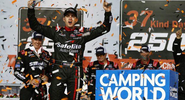 NASCAR Camping World Truck Series: Noah Gragson vence no Kansas