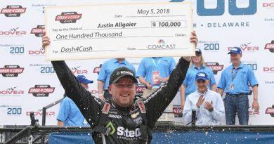 NASCAR XFINITY Series: Justin Allgaier vence em Dover