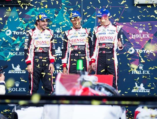 WEC: Toyota faz a dobradinha em Spa-Francorchamps