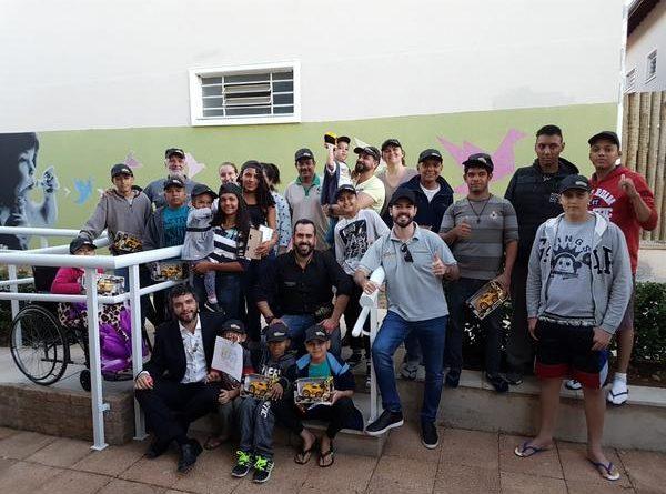 Copa Truck: Categoria faz a alegria da criançada na Casa Ronald Campinas