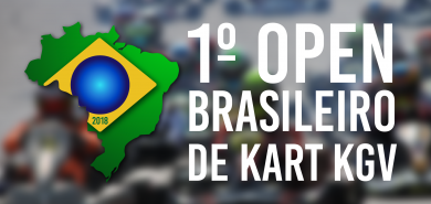 Acompanhe AO-VIVO o Open Brasileiro de Kart KGV 2018