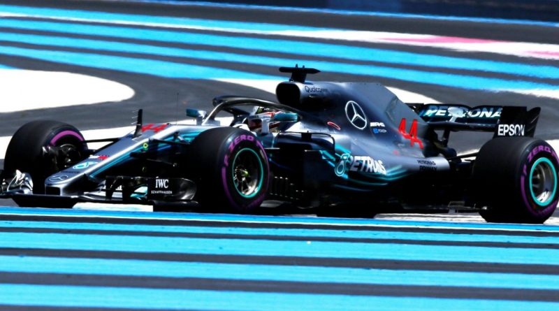 F1: Lewis Hamilton é o mais rápido no 1º Treino Livre para o GP da França