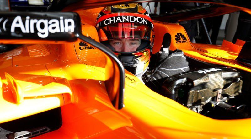 F1: Stoffel Vandoorne não se vê inferior a Fernando Alonso na McLaren