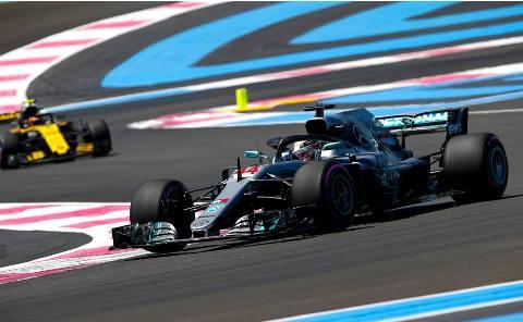 F1: Lewis Hamilton marca a pole para GP da França
