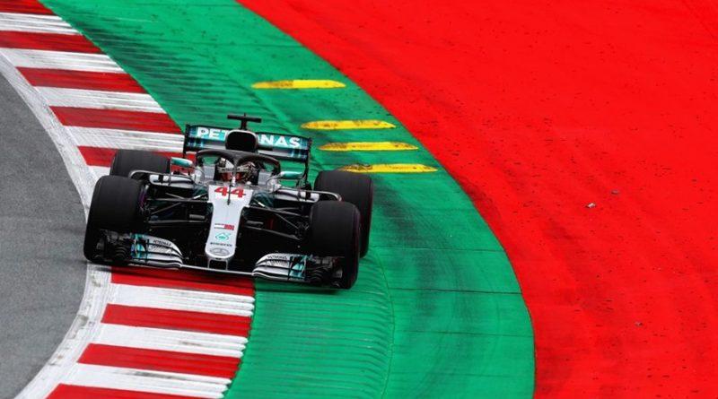 F1: Lewis Hamilton é o mais rápido no primeiro treino livre para GP da Áustria