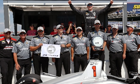 IndyCar: Josef Newgarden marca a pole-position para GP do Texas