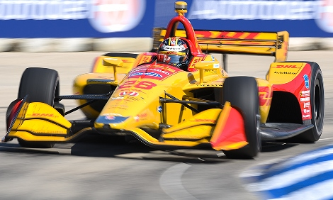 IndyCar: Ryan Hunter-Reay vence a segunda prova em Detroit
