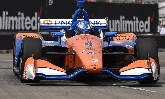 IndyCar: Scott Dixon vence a primeira prova em Detroit