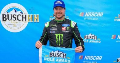 NASCAR Monster Energy Cup Series: Kurt Busch marca a pole em Michigan