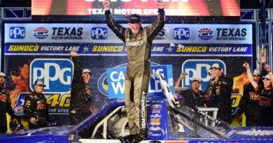 NASCAR Camping World Truck Series: Johnny Sauter vence no Texas Motor Speedway