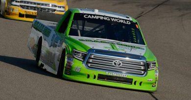 NASCAR Camping World Truck Series: Brett Moffitt vence em Iowa