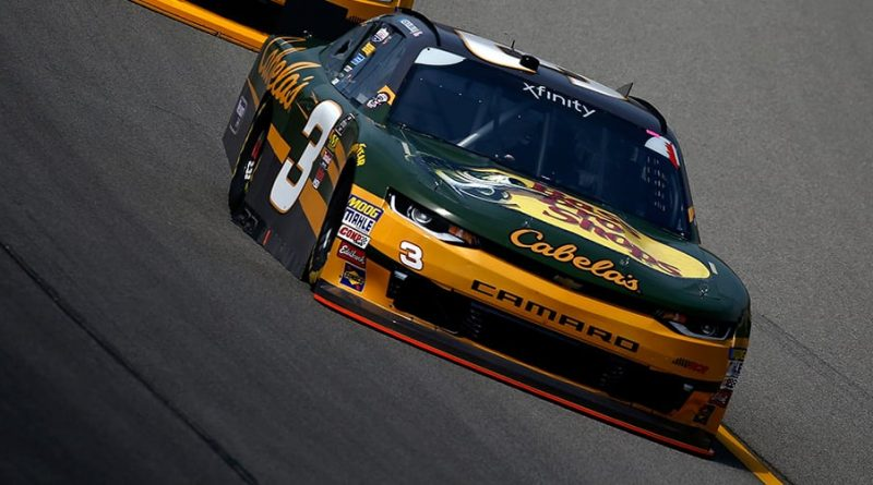 NASCAR XFINITY Series: Austin Dillon vence prova encurtada pela chuva