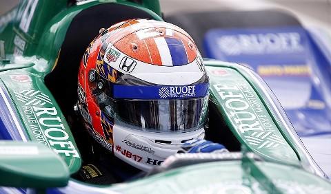 IndyCar: Alexander Rossi marca a pole para a segunda prova em Detroit