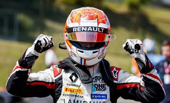 GP3: Anthoine Hubert marca a pole para o GP da Hungria