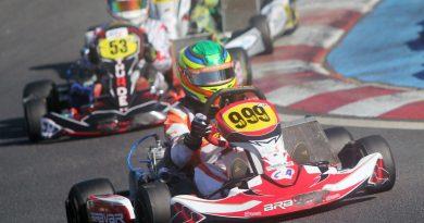 Brasileiro de Kart: Arthur Gama fez belo Brasileiro em duas categorias e se prepara para disputar o Sul-Americano