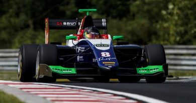 GP3: David Beckmann marca o melhor tempo no Treino Livre para o GP da Hungria