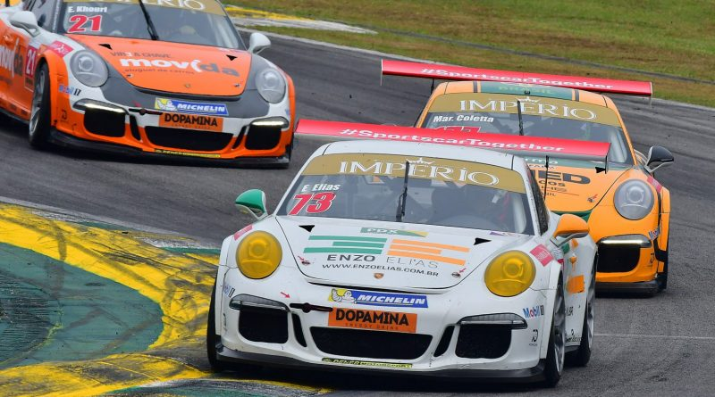 Porsche Cup: Enzo Elias estreia em provas de longa duração