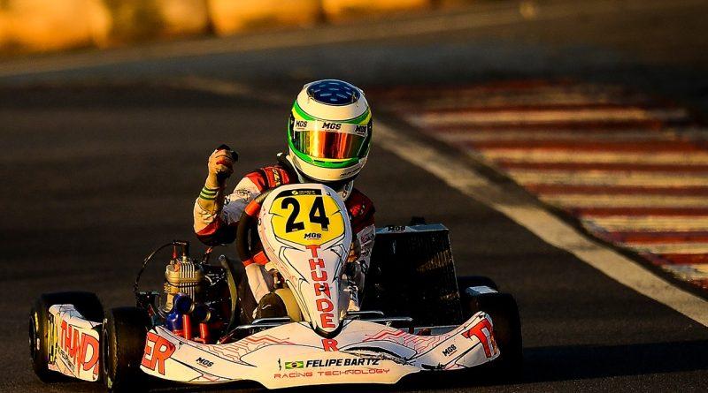 Brasileiro de Kart: Felipe Bartz estreia no Campeonato Brasileiro de Kart, após vitoria no Open