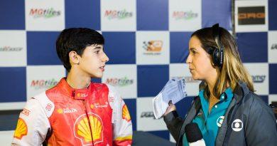 Brasileiro de Kart: Gabriel Crepaldi começa nesta terça-feira a disputa por mais um título nacional