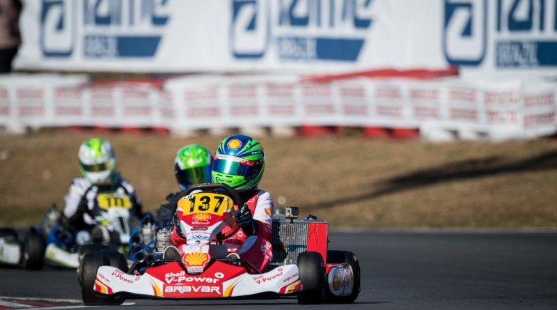 Brasileiro de Kart: Gabriel Crepaldi fechou o Brasileiro em 3º na Codasur Júnior e conquistou vaga para o Sul-Americano