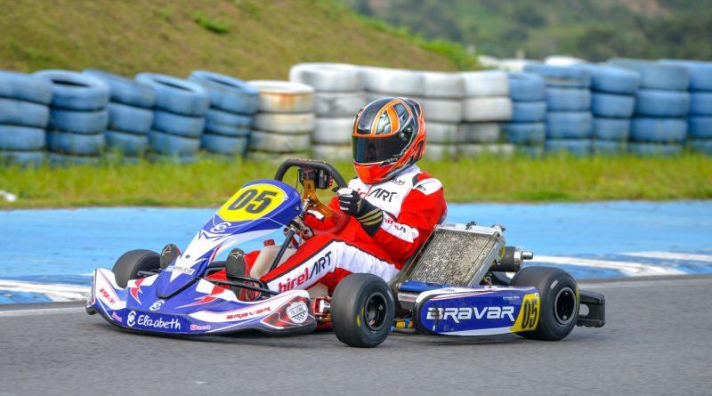 Brasileiro de Kart: George Crispim Filho vai disputar duas categorias