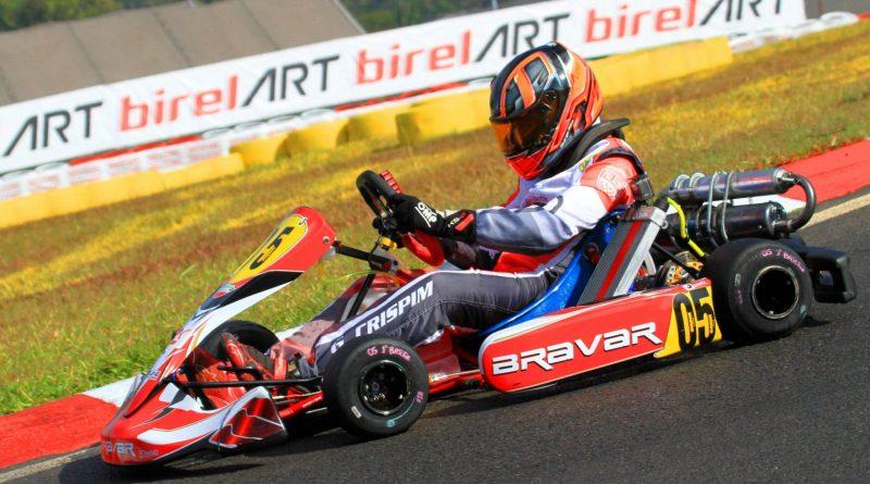 Brasileiro de Kart: George Crispim Filho tenta vaga no mundial da Suécia, na CODASUR Júnior