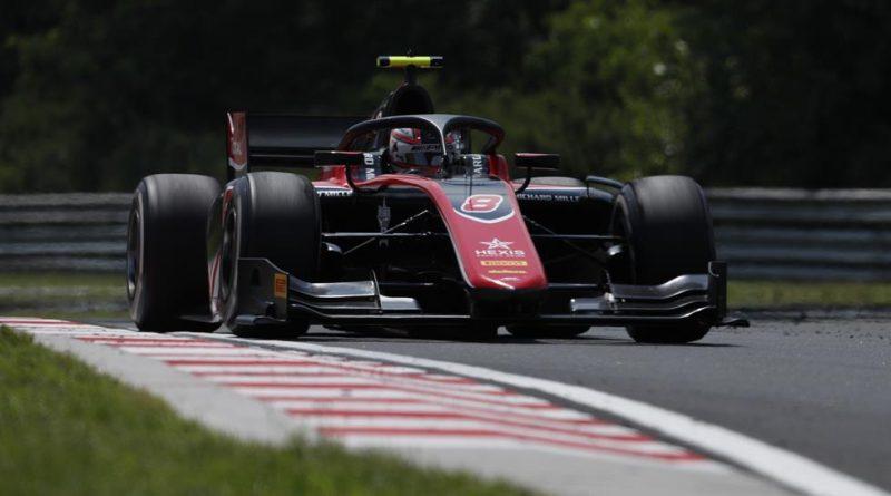 Fórmula 2: George Russell marca o melhor tempo no Treino Livre para o GP da Hungria