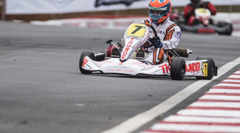 Brasileiro de Kart: Chassis Thunder começam a disputa do Brasileiro com ótimos resultados no 1º dia de treinos