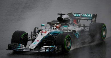 F1: Sob chuva, Lewis Hamilton marca a pole-position para o GP da Hungria