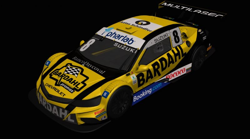 Pharlab estreia na Stock Car, com o piloto Rafael Suzuki na Corrida do Milhão