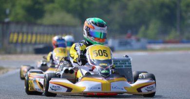 Kart: Ricardo Gracia chega animado para a etapa italiana do Troféu Academia