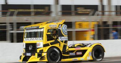 Copa Truck: Giaffone mantém domínio e registra a pole em Campo Grande