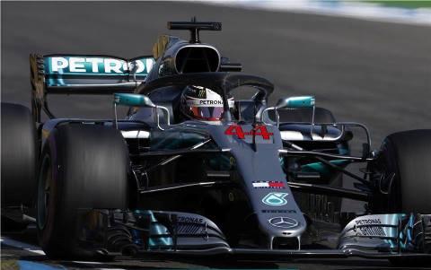 F1: Chuva bagunça prova, Sebastian Vettel bate. E Lewis Hamilton vence GP da Alemanha