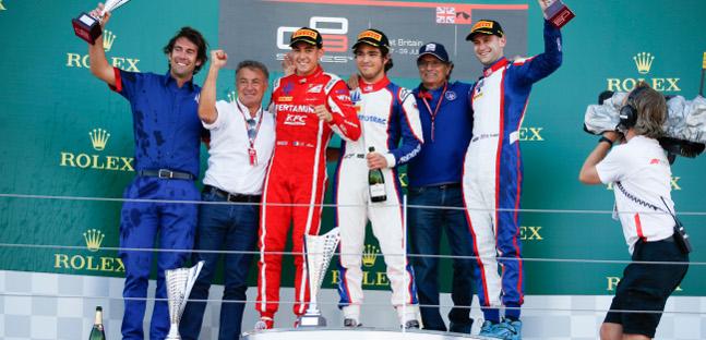 GP3 Series: Anthoine Hubert e Pedro Piquet vencem em Silverstone