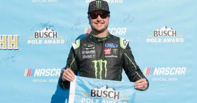 NASCAR Monster Energy Cup Series: Kurt Busch marca a pole em New Hampshire