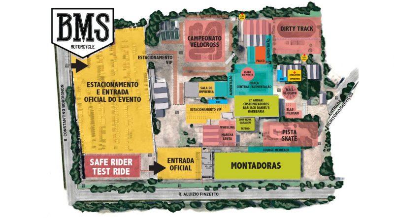 BMS Motorcycle 2018 terá pista exclusiva de skate e presença de marcas importantes do segmento