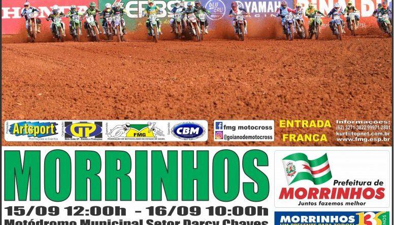 Morrinhos recebe o Goiano e Brasileiro de Motocross